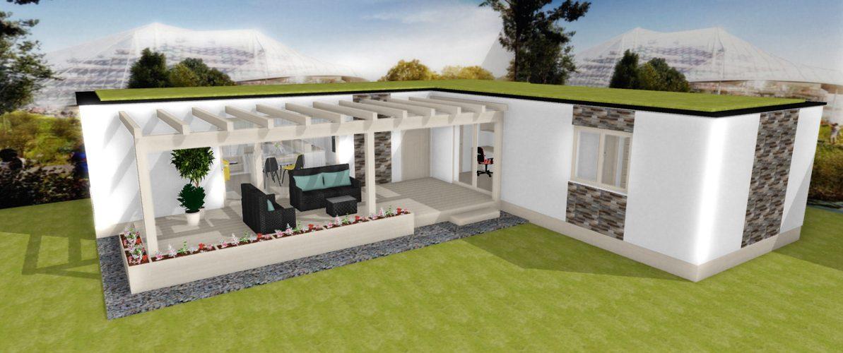 modulove domy navrh