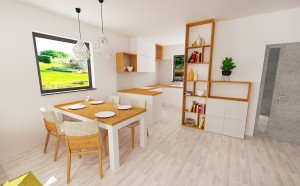 Veronika bungalov- kuchyna