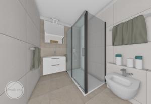 velky sprchovy kut v malej kupelni
