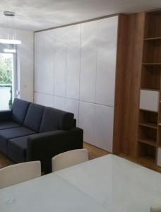 úložný priestor v obývačke