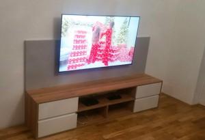 skrinka pod TV na mieru