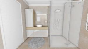Sprchový kút 1300 x1000