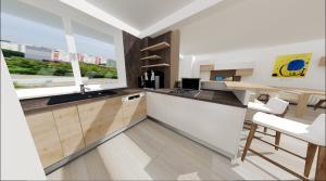 navrh kuchyne v petrzalskom byte
