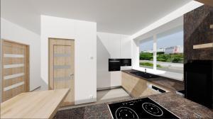 navrh kuchyne v malom byte