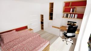 studentská izba nábytok